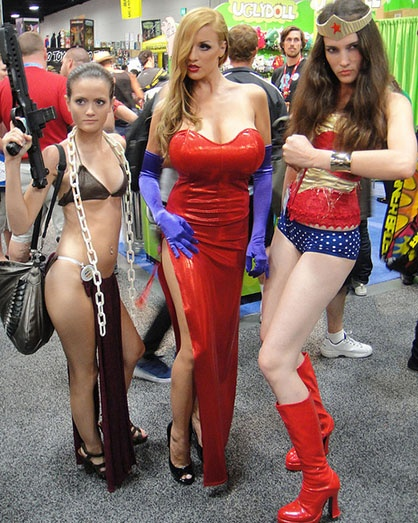 sexy girls in costume naked